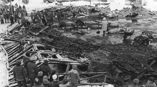 Septembre 1979 (31) – l'incendie d'un club de Chapais qui a fait au moins 42 morts et une cinquantaine de blessés dans la nuit de Nouvel An de 1980