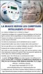 LA BEAUCE REFUSE LE COMPTEUR INTELLIGENT